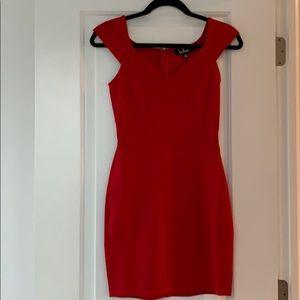 XS Lulus Shape of My Heart Bodycon Dress
